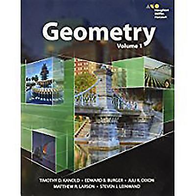 HMH Geometry: Interactive Student Edition Volume 1 2015 by HOUGHTON MIFFLIN HAR