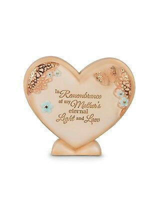Mother's Light and Love Memorial plaque 10cm in Rememberance