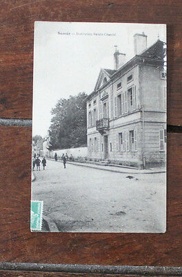 CPA Côte d'Or Bourgogne Semur en Auxois Institution Ste Chantal 1923