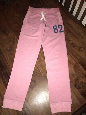 Girls Pink Joggers By Next - Age 10 Years