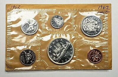 1962 Canada Proof Like Silver Uncirculated Mint Set