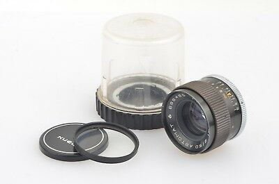 HELIOS 81 50mm F2 AUTOMAT LENS FOR KIEV 10, 15 CAMERAS, NICE! +CASE