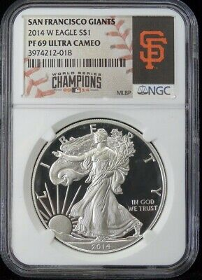 2018-S Proof $1 American Silver Eagle NGC PF69UC San Francisco Core