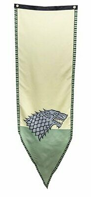 Game of Thrones- Stark Winterfell Tournament Banner Fabric Poster 19 x 60in