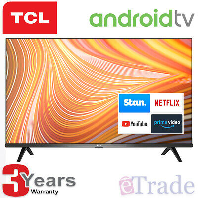 "2019 TCL 32"" Inch HD ANDROID Smart LED TV Netflix HDR Quad Core Model 32S6800S"