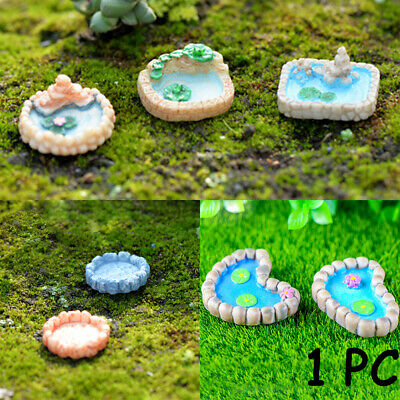 Bonsai Accessories Pond Figurines Landscaping Model Miniatures Pool Resin Craft