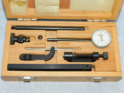 """Fowler 52-570-010 Deluxe Universal Test Dial Indicator Set, 0.100"""""""