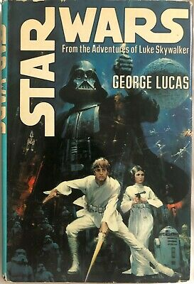 Star Wars by George Lucas 1976 1st Book Club Edition Hardcover