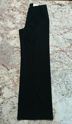 NWT Cato size small black wideleg stretch knit pants