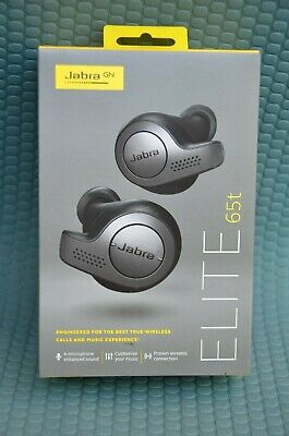Jabra Elite 65t True Wireless Earbuds with Charging Case - Alexa Enabled