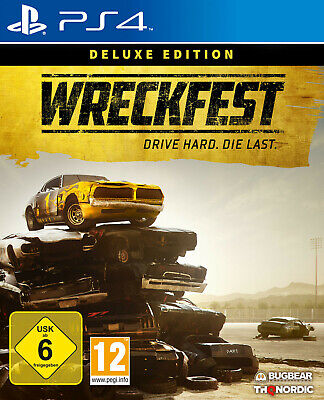 Wreckfest Deluxe Edition - PlayStation 4