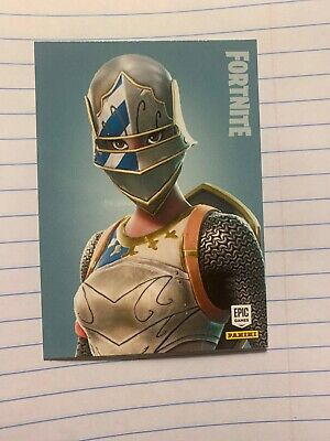 Panini Fortnite trading cards Series 1 2019 - Rare Outfit Royale Knight #193