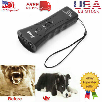 Petgentle Ultrasonic Anti Dog Barking Pet Trainer LED Light Gentle Chaser Style