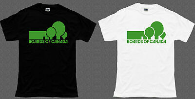 New BOARDS OF CANADA Black White T shirt S-5XL