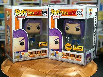 Funko POP! Dragonball Future Trunks Hot Topic Exclusive Chase + Non-Chase Bundle