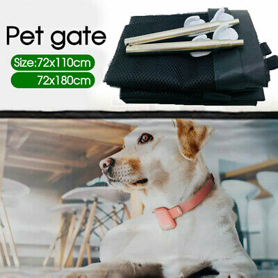 Safe Pet Anywhere Magic Guard&Install Safety Enclosure Dog Gate Barrier Mesh