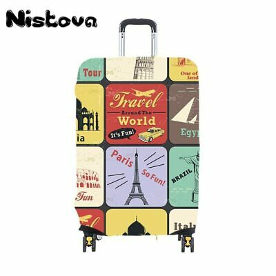 Nistova® Bag Child Cartoon Travel  Luggage Cover Thicken Elastic Color Trolley
