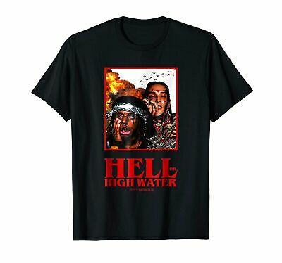 New Hell Or High Water CITY MORGUE Funny Black T shirt S-5XL