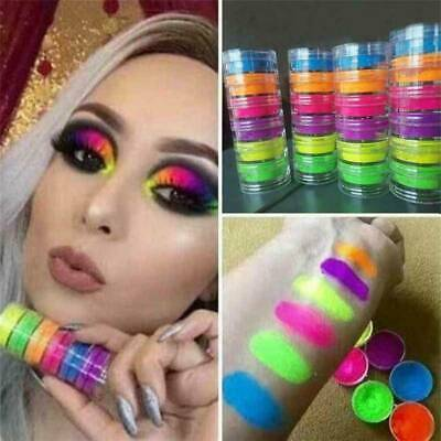 Shimmer Waterproof Matte Eyeshadow Eyeshadow Pigment Nail Powder Neon Powder