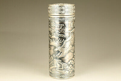 sterling silver S999 usable tradition culture eagle tea cup