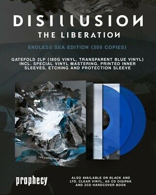 Disillusion - The Liberation  ++Limited+++ 2 Vinyl Lp New+