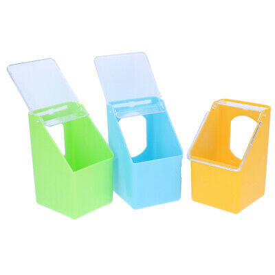 Pigeon Feeder Water Feeding Plastic Food Dispenser Parrot Container Supplies~GN