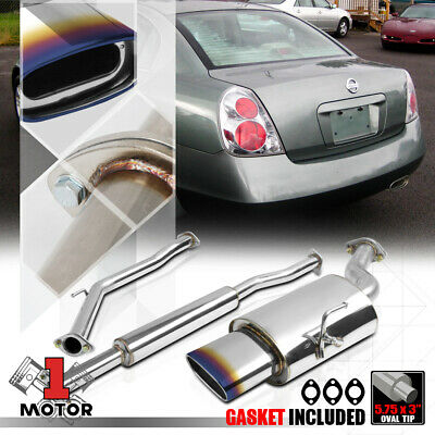 STAINLESS STEEL PERFORMANCE CATBACK EXHAUST SYSTEM FOR 02-06 NISSAN ALTIMA 2.5L