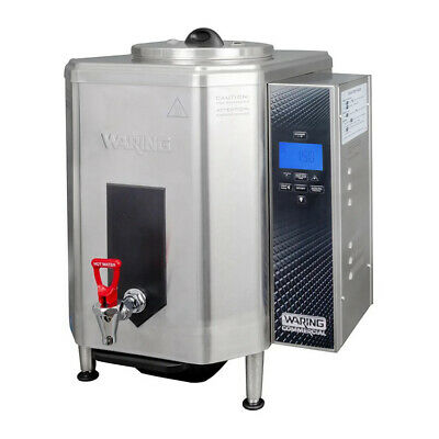 Waring WWB10G 10 Gallon Hot Water Boiler Dispenser with Auto Refill, 120V