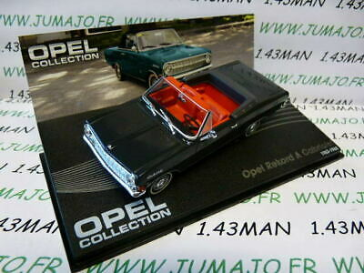 OPE23R voiture 1/43 IXO eagle moss OPEL collection : REKORD A Cabriolet 63-65