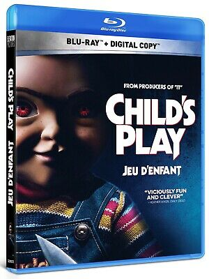 CHILD'S PLAY (2019) [Blu-ray+Digital] New !! Pre-order Sept. 24 (Free Shipping)