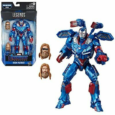 Marvel Legends Avengers Endgame Iron Patriot with Thor BAF PREORDER!  In Box!