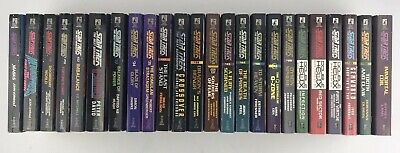Star Trek The Next Generation Novel 28 Book Lot Simon & Schuster Pocket Books
