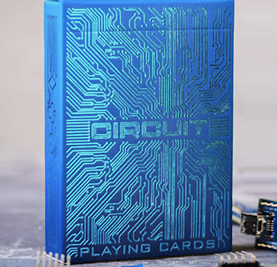 Circuit (Blue) Playing Cards by Elephant Playing Cards