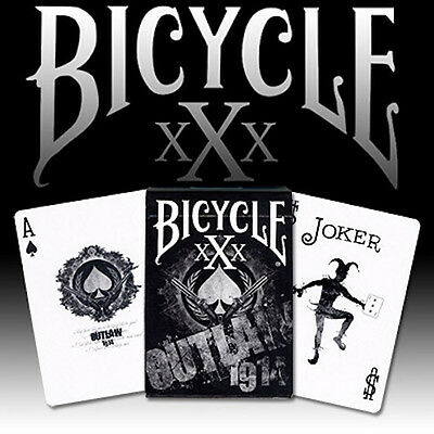 Outlaw Bicycle Deck Playing Cards by US Playing Card