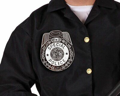 Police Badge for Cop Costume - Special Police - Fancy Dress Accessory - 15cm