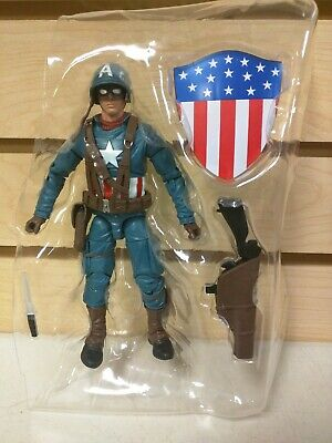 Marvel Legends WWII Captain America Action Figure Only (From Motorcycle 2-Pack)