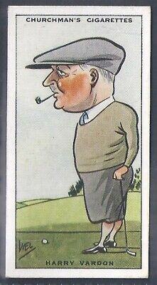 Churchman-Prominent Golf Ers (Standard Size)-#42- Harry Vardon