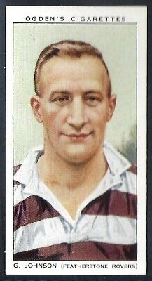 Ogdens-Football Club Captains-#35- Rugby League - Featherstone Rovers - Johnson
