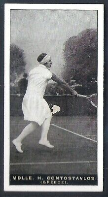 Players Overseas Issue-Lawn Tennis-#14- Mlle Contostavlos