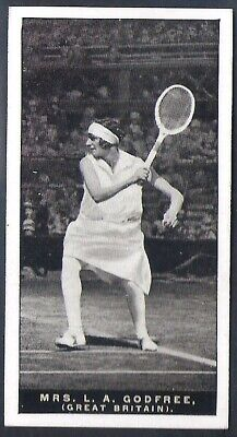 Players Overseas Issue-Lawn Tennis-#19- Mrs Godfree