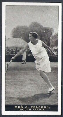 Players Overseas Issue-Lawn Tennis-#38- Mrs Peacock