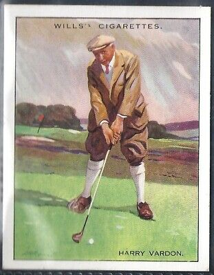 Wills-Famous Golf Ers-#22- Harry Vardon