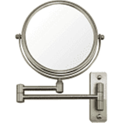 Ovente Wall Mount Mirror, 1X/10X Magnification, 7 Inch MNLFW70