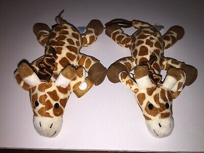 Lot Of 2 Dr. Brown Gerry Giraffe Pacifier/Teether Holders