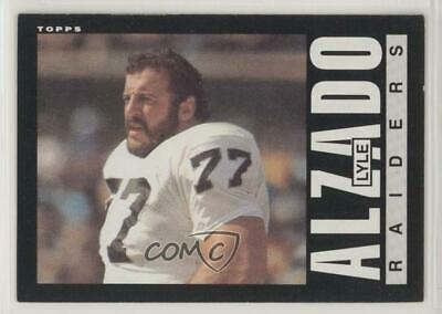 Verzamelingen 1984 Topps #101 Lyle Alzado Oakland Raiders Los Angeles Football Card Amerikaans voetbal