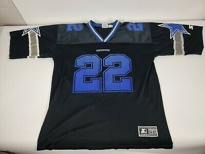 detailed look 05a17 fb5f2 VINTAGE PRO PLAYER Starter Dallas Cowboys Emmitt Smith #22 ...