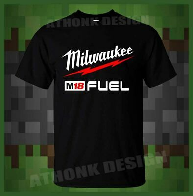 New Milwaukee M18 FUEL POWER TOOLS T shirt S-5XL