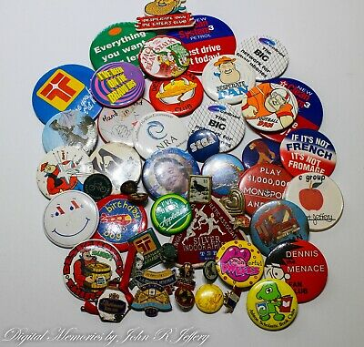 Badges - Collectable - Bulk Lot Of 49