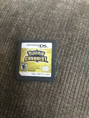 Pokemon Conquest Nintendo DS / 3DS 2012 Game Only Ships Fast( Game only )