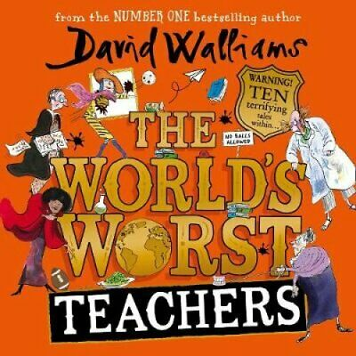 The World's Worst Teachers by David Walliams 9780008364038 | Brand New